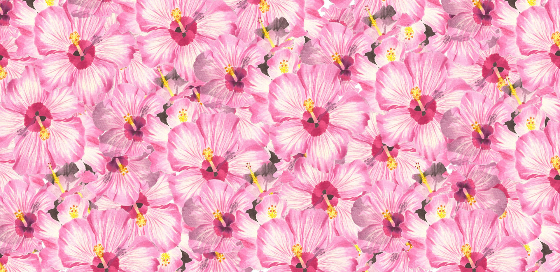 Hibiscus Flowers Fabric