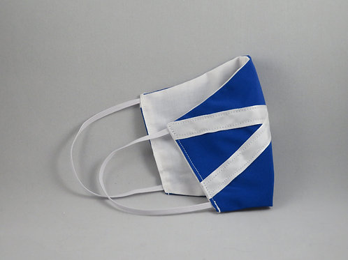 Scotland Flag/White Face Mask