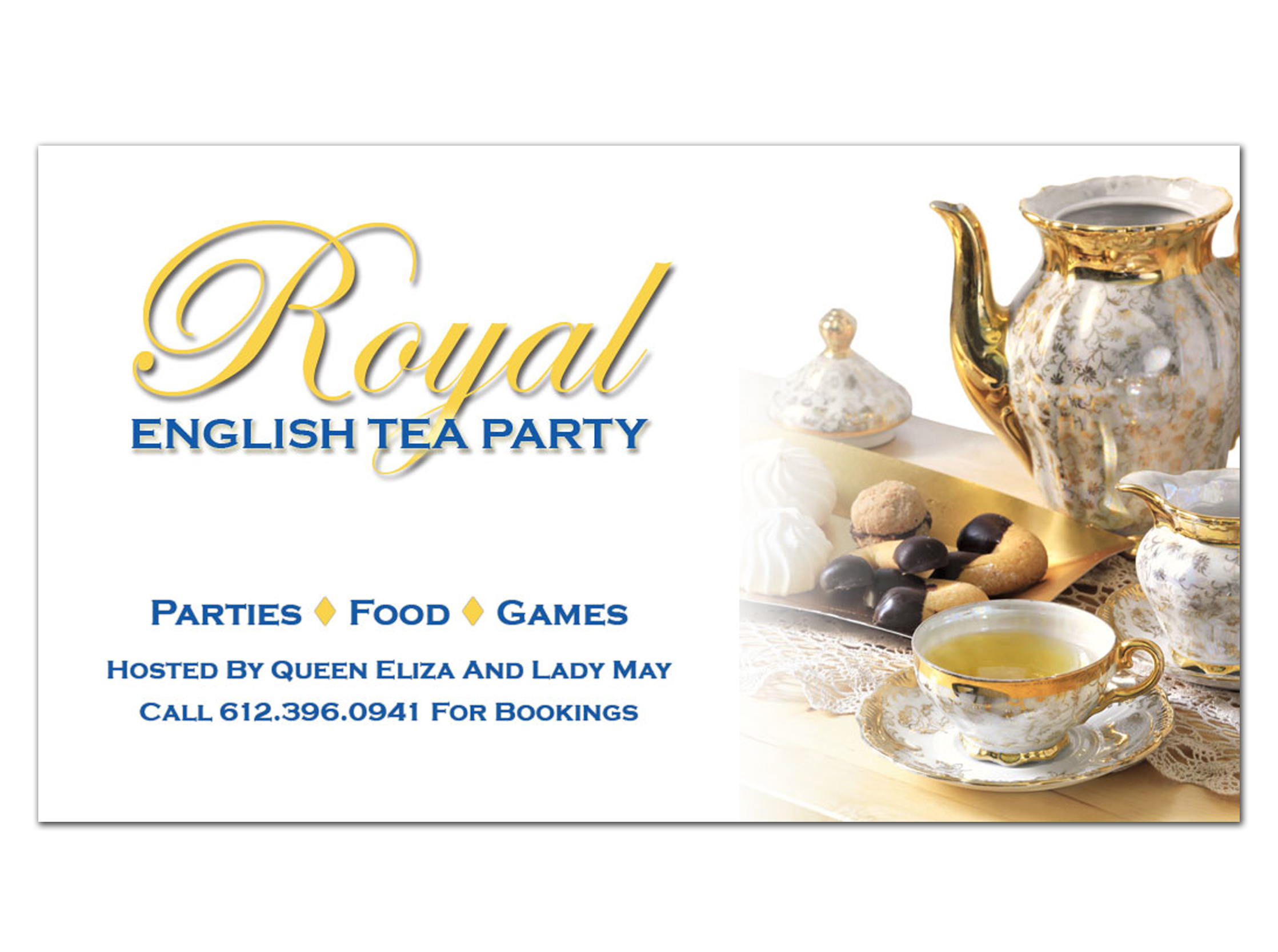 Royal English Tea Party