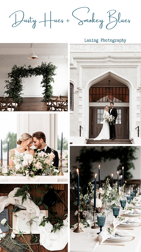 Styled shoot at The Schoolhouse wedding venue. Table setting, ceremony arch.