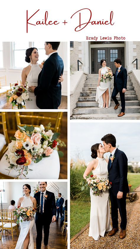 September wedding at The Schoolhouse. Elopement. Indoor ceremony and outdoor photos.