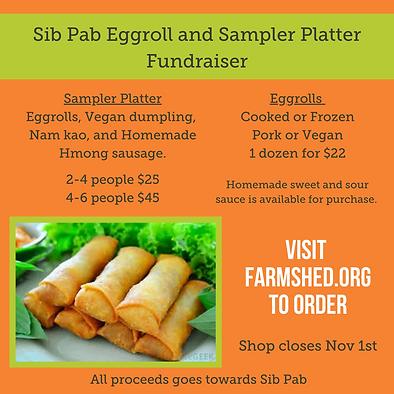 Sib Pab Eggroll and Sampler Platter Fundraiser (Instagram Post).png