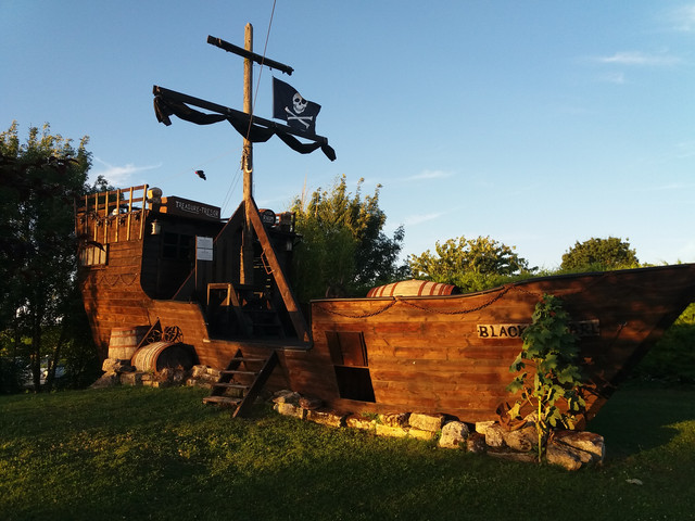you may get to meet Jack Sparrow when you stay!