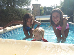 kiddies pool fun
