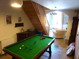 Beau Geste billiards table