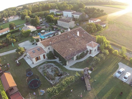 la pommeraie from the air