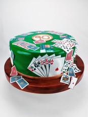 Motivtorte Kartenspiel Bridgepg