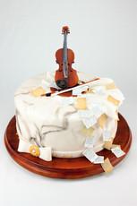 Motivtorte Violine