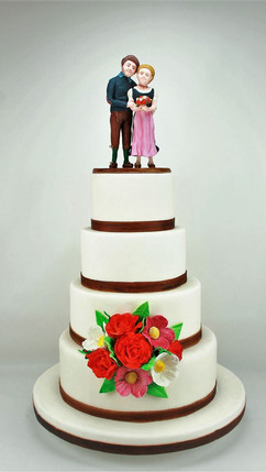 Trachten-Hochzeit mit personalisierten T