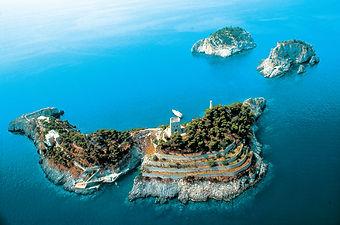 Li Galli, private island in Positano