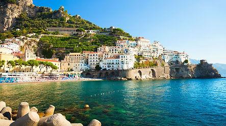 Amalfi sea front