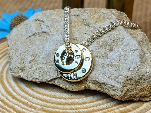 Primerless Brass CZ Necklace