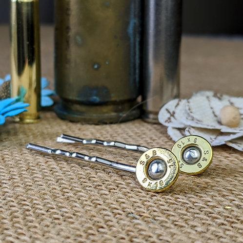 9mm Brass Bobby Pins