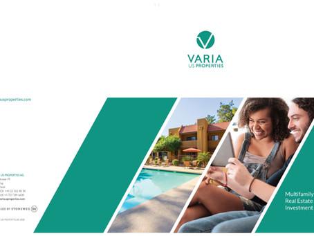 Varia US Properties AG Unveils New Digital Corporate Brochure