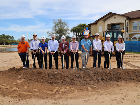 Stoneweg US Ground Breaking at Tuscan Reserve Apartments Featured in Tampa Bay Business Observer