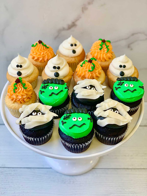Freaky Friends Cupcakes