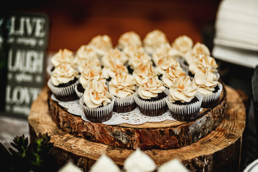 Custom Wedding Cupcakes