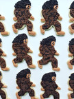 Sasquatch Yeti Cookies