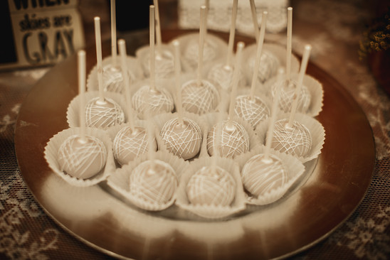 Custom Wedding Cake Pops