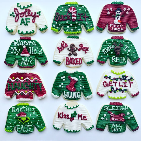 Punny Ugly Sweaters