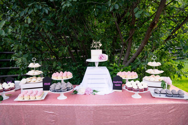 Summer Wedding Dessert Bar