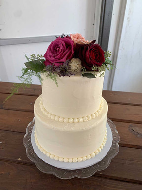 Classic Smooth Wedding Cake