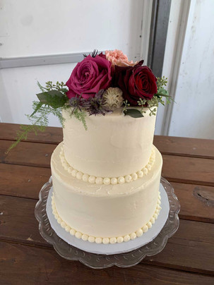 Classic Smooth Wedding Cake