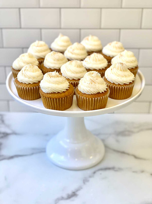 Classic Pumpkin Cupcakes