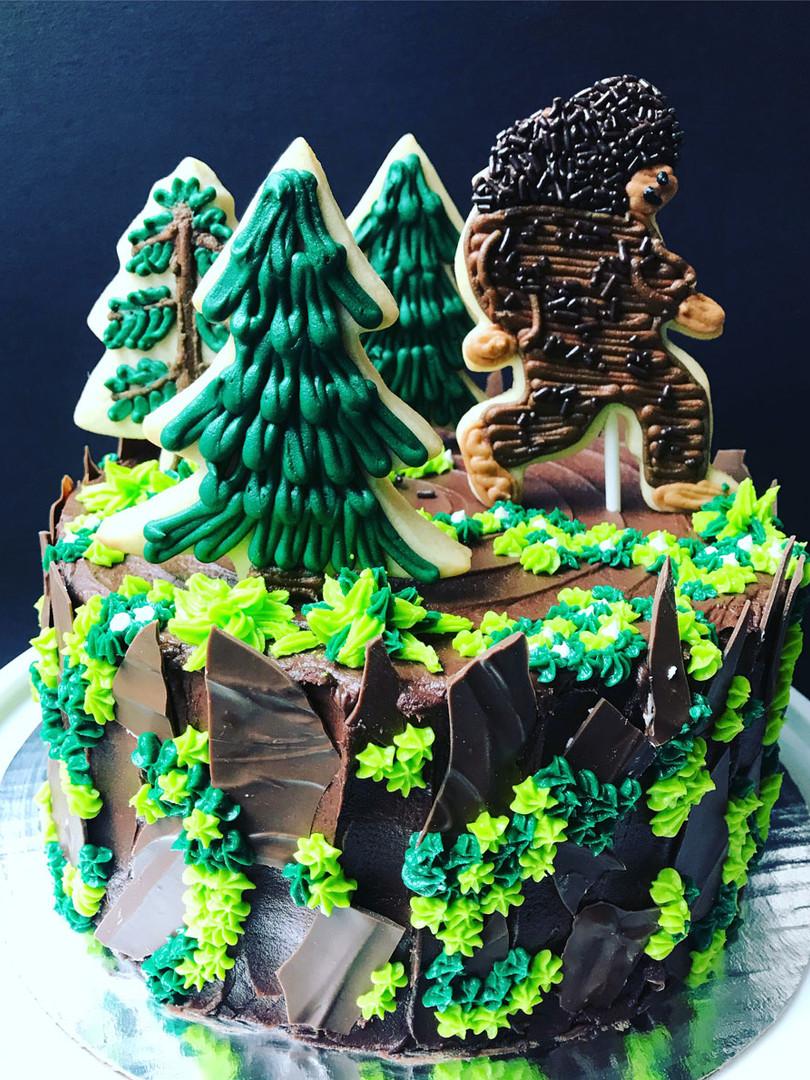 Yeti Pacific Northwest Cake