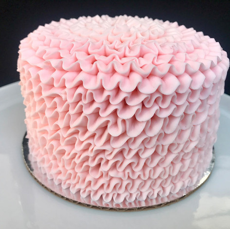 Pretty in Pink Smash Cake
