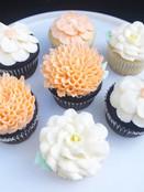 3D Flower Cupcakes