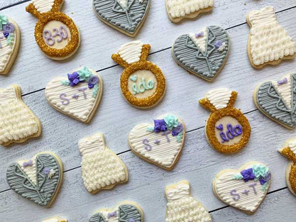 Wedding Themed Cookies
