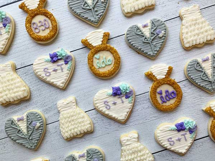 Wedding Themed Cookies