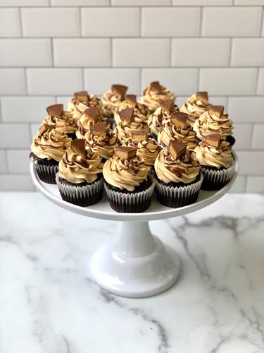 Chocolate PB Cupcakes