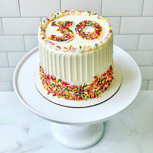"6"" Milestone Cake"