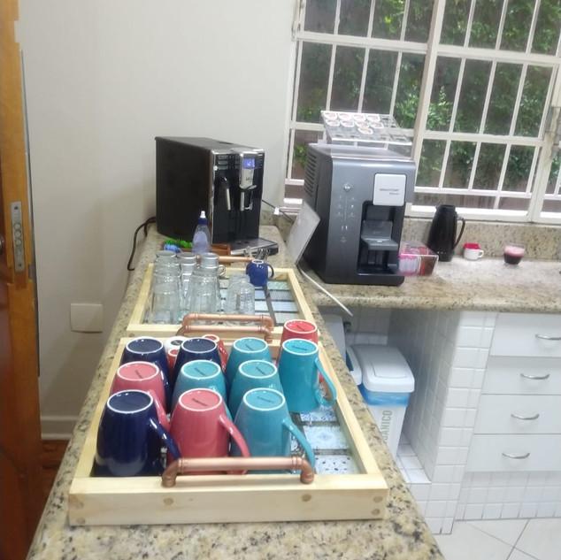 Área de café