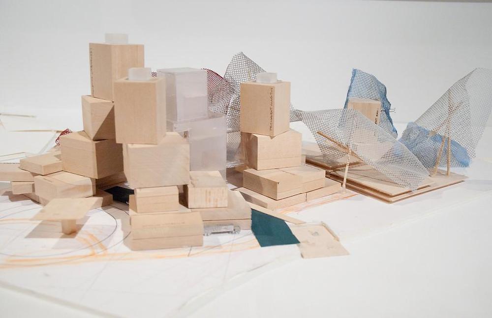 Ghery Massing Study--children's play blocks
