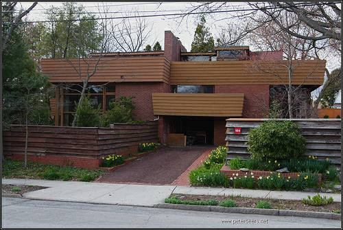 Suntop Homes, Ardmore, PA--Frank Lloyd Wright