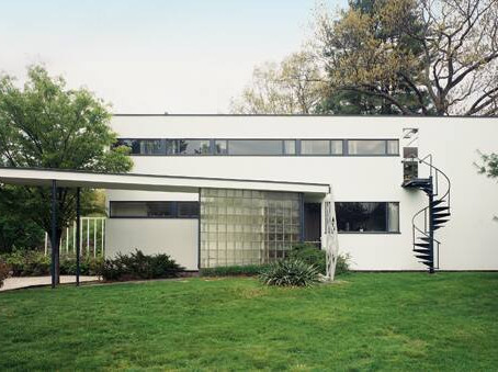 Gropius--From Bauhaus to his House