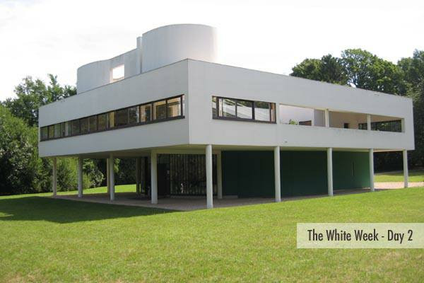 Villa Savoy, Poissy, France--Le Corbusier