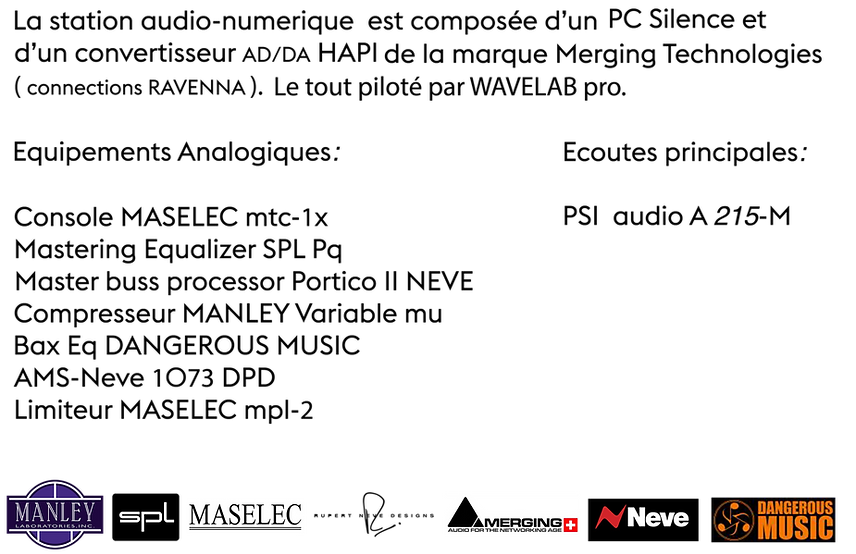 Matériel Studio WestMaster