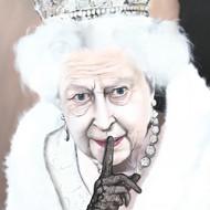 Queen Elizabeth II 100x120cm