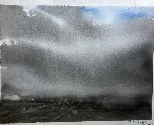 Regnväder Lappland 18x15cm