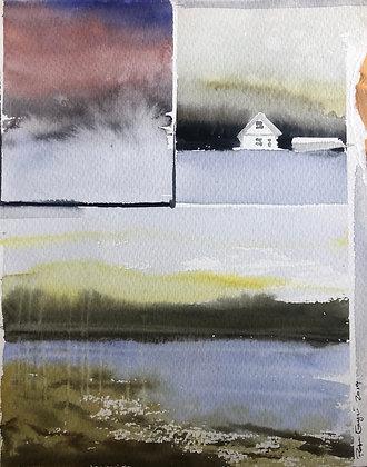 Norrlands collage 15x19cm