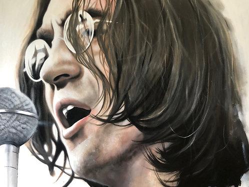 John lennon - Acrylic on canvas ( 100x80cm ) 2017