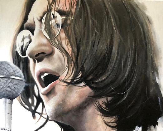 John Lennon Acrylic on Canvas 80x100cm