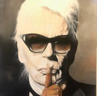 Karl lagerfeldt 89x116 cm