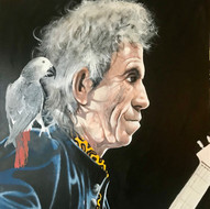 Keith Richards with Jacko