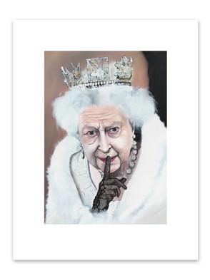 Queen Elisabeth II With Playboy Crown
