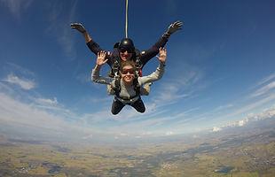 lancio paracadute casale